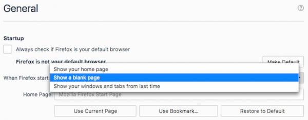 firefox slow homepage default 670x262 1 e1558339301881 - 5 روش برای افزایش سرعت مرورگر فایرفاکس