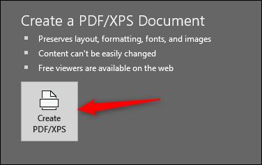 ذخیرهسازی فایلهای پاورپوینت بهصورت PDF