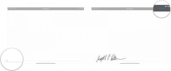 امضا کردن اسناد مک با آیفون و آیپد
