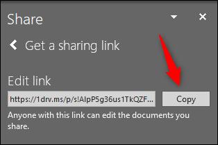 اشتراکگذاری فایلهای پاورپوینت با OneDrive