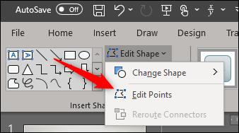 تغییر اشکال با استفاده از Edit points