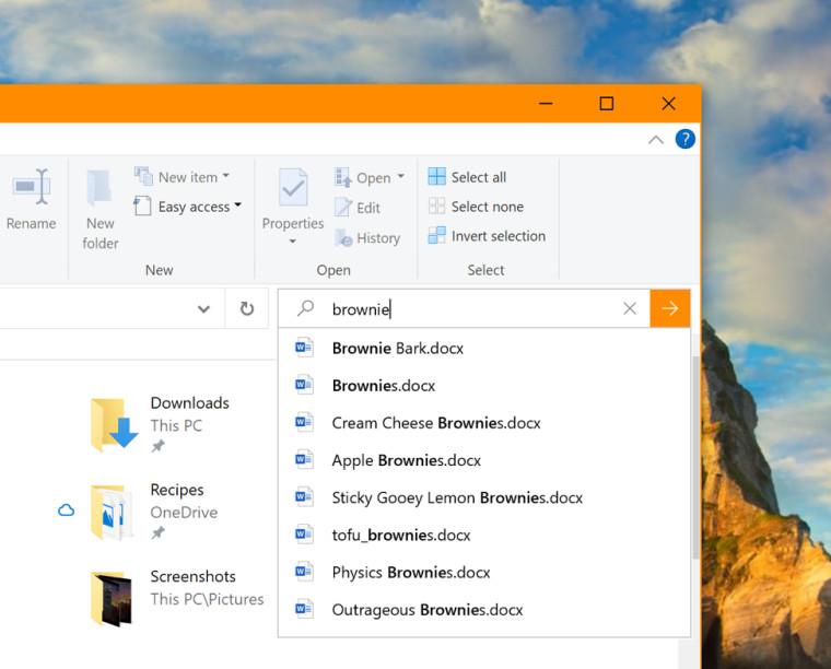 File-Explorer-search