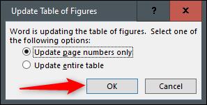 ایجاد و بهروزرسانی یک جدول Figure