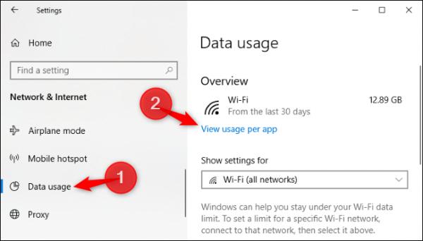 برنامههایی که در ویندوز از اینترنت استفاده میکنند