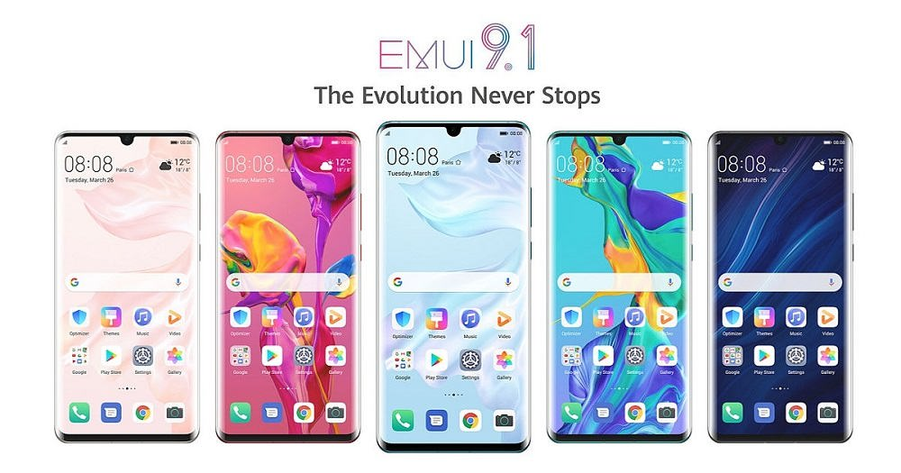 رابط EMUI 9.1