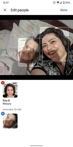 تگ چهره افراد در Google Photos