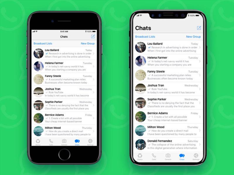 نسخه جدید واتساپ