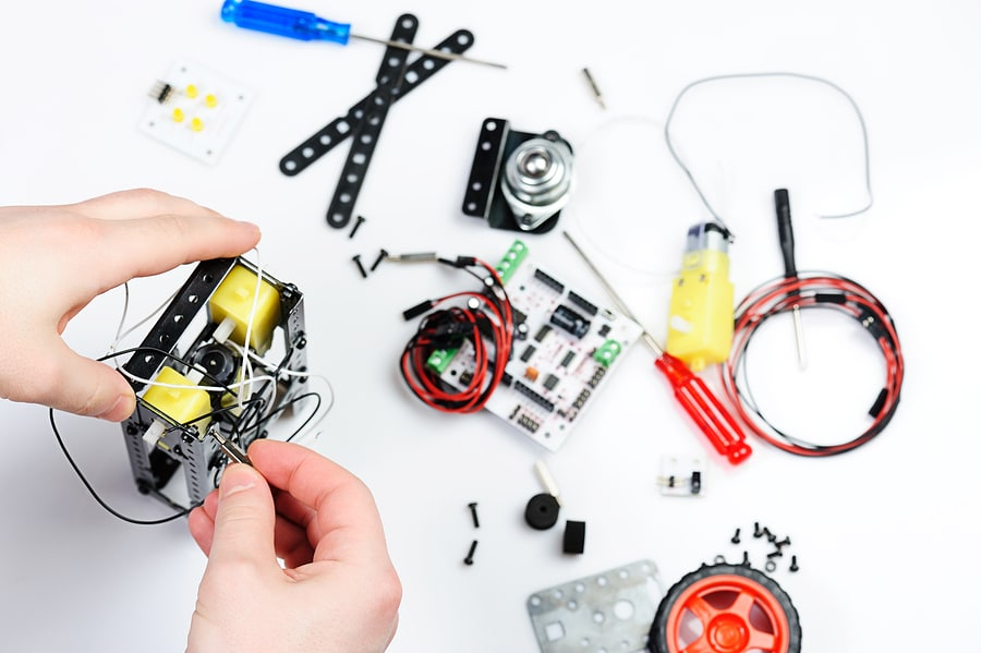 ساخت ربات robot