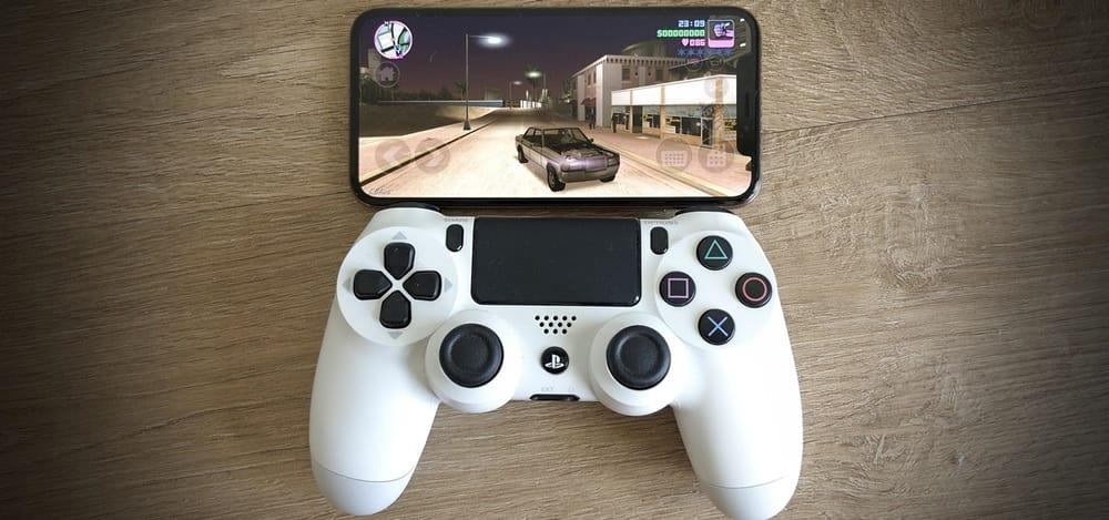 دسته بازی iphone dualshock