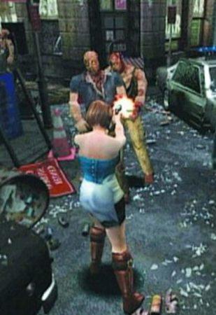 زامبی Resident Evil 3 Nemesis
