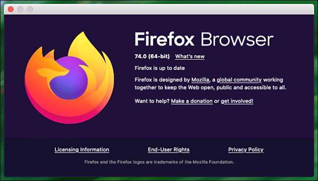 آپدیت کردن فایرفاکس