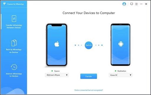 انتقال پیامهای واتسآپ به گوشی جدید