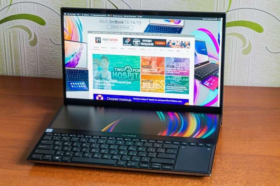 ZenBook Pro Duo ایسوس