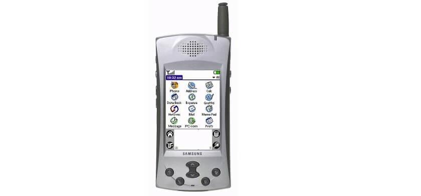 سامسونگ اولین گوشی هوشمند، قبل از اندروید و IOS