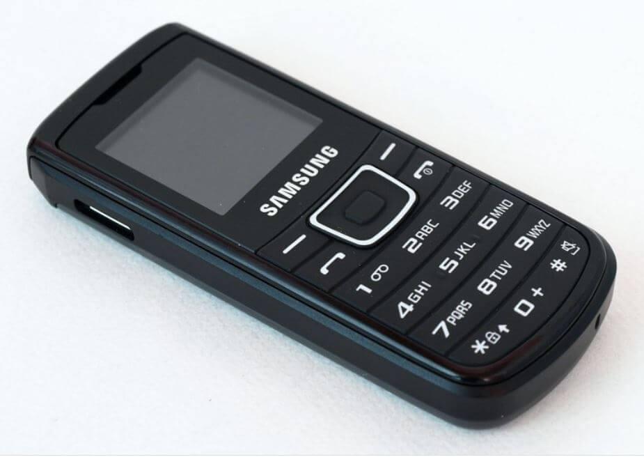 گوشی E1100 رکورد دار بیشترین فروش گوشی سامسونگ