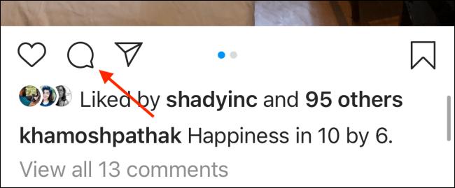 پین کردن کامنتها در اینستاگرام