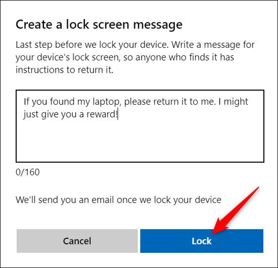 قفل کردن کامپیوتر ویندوز 10 از راه دور