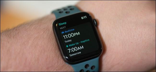 ردیابی خواب با اپل واچ