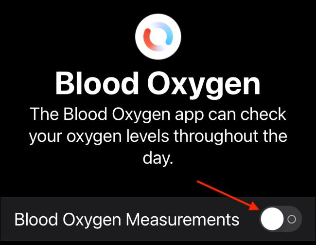 سنجش اکسیژن خون با اپل واچ