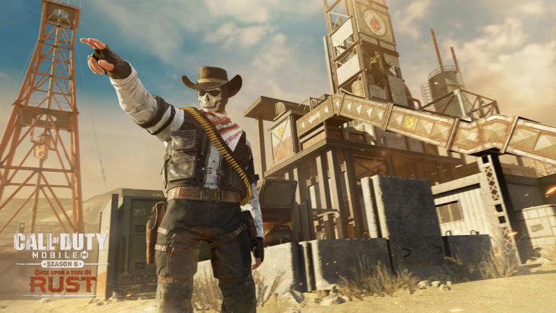 نقشه جدید Call of Duty Mobile
