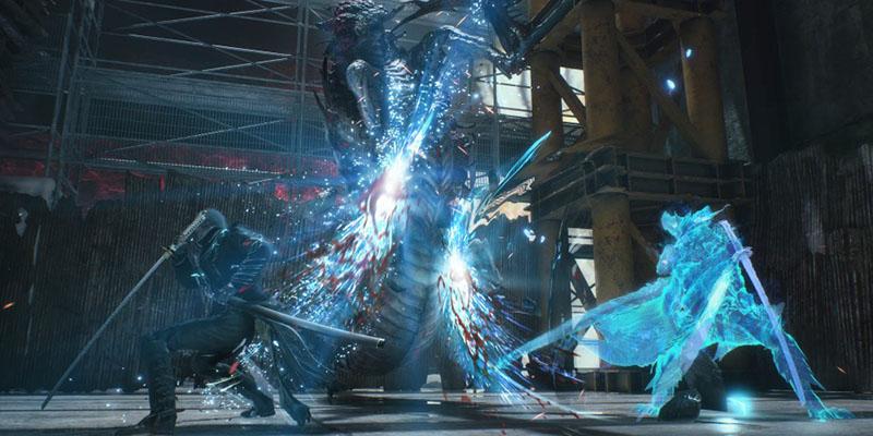 مبارزه با استفاده از سایهی ویرجیل در بازی