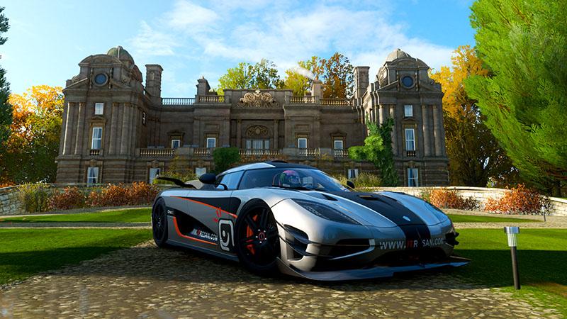 خرید خانه در Forza Horizon 4