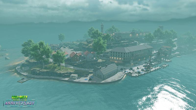 نقشه جدید Alcatraz