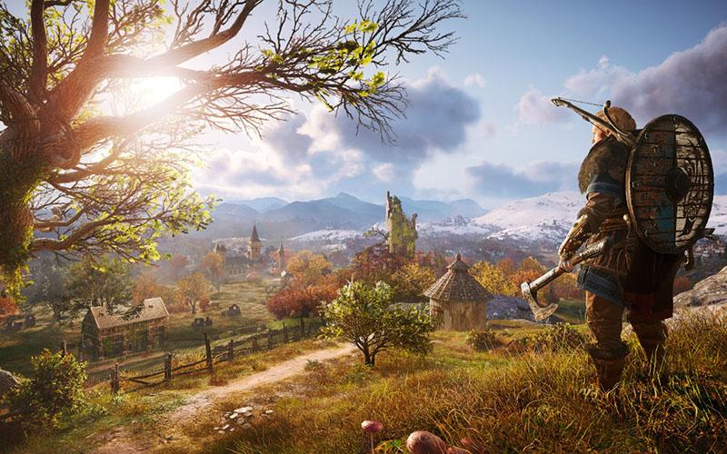محیط خیره کننده Assassin's Creed Valhalla
