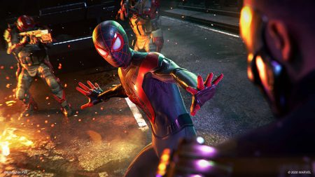 مبارزات بازی Spider Man: Miles Morales