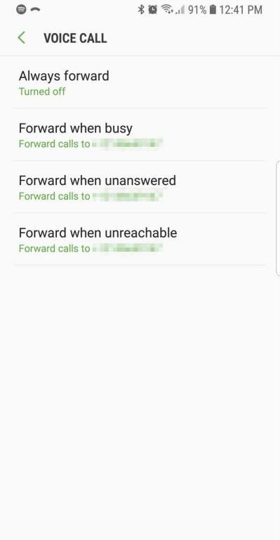 فوروارد تماس
